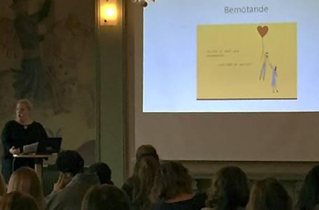 Lisa Högbergs föreläsning samlade många intresserade.