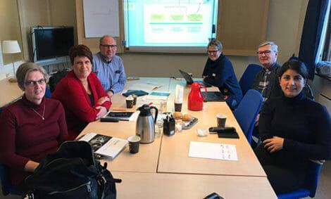 Riksdagsmän besökte Finsam-Falun.