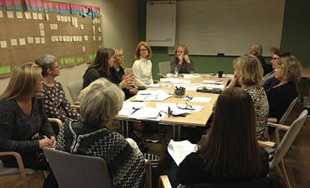 Intensiva diskussioner om hur samverkan mellan myndigheterna i Falun kan utvecklas.